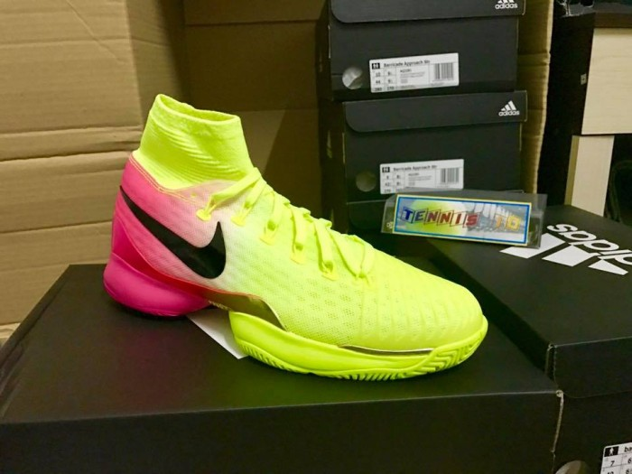 harga Sepatu tenis nike air zoom ultrafly qs - volt/hyper pink Tokopedia.com