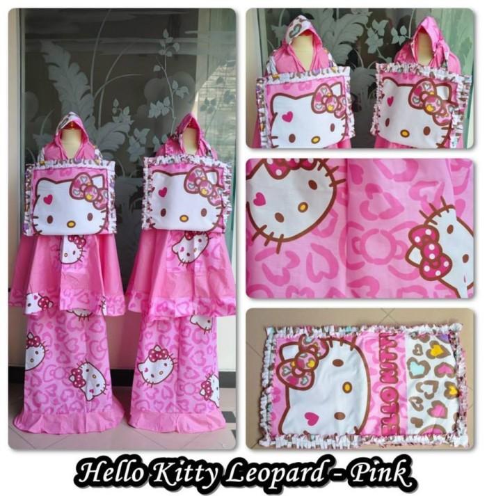Harga Madeena Mukena Anak Karakter Hello Kitty Summer Pink Source · Mukena anak katun karakter hello