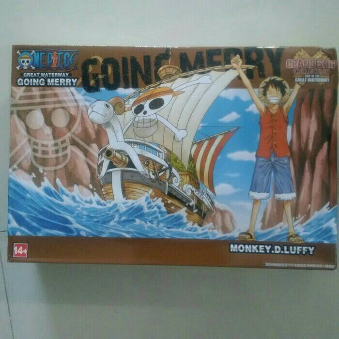 Grandship one piece going merry kapal one piece figure one piece