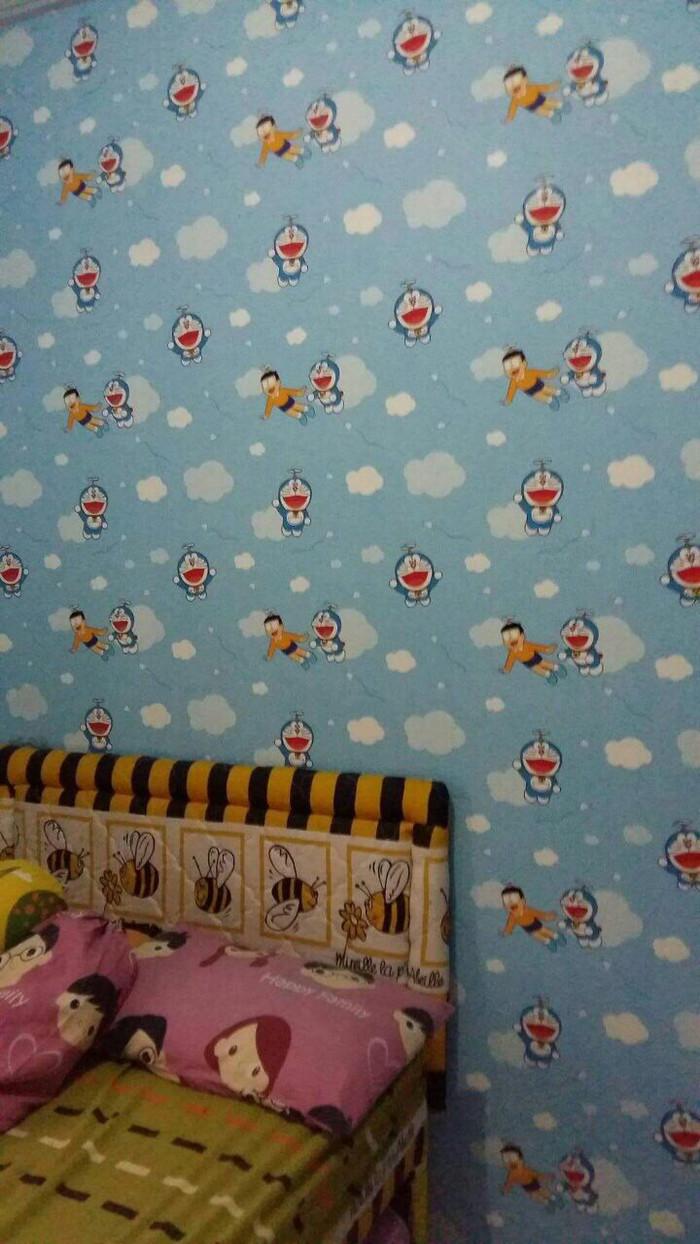 Jual Wallpaper Dinding Kartun Doraemon Biru Dan Hijau Kota Bekasi Aneka Indah Wallpaper
