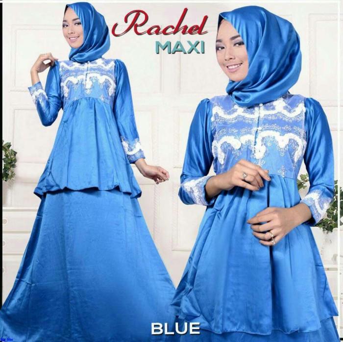 Jual Rachel Maxi Gamis Modern Anak Muda Gamis Saten Batik Ar