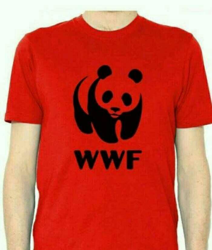 harga Kaos pria kaos tshirt wwf red Tokopedia.com