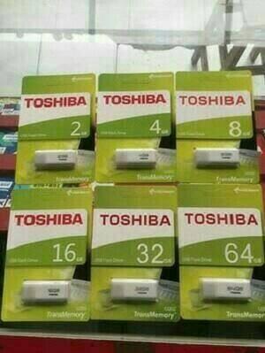 Foto Produk Flashdisk TOSHIBA 2GB Packing hijau dari fhasion acc
