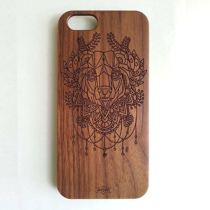 harga Iphone 6 wooden case - dreamcatcher bear Tokopedia.com