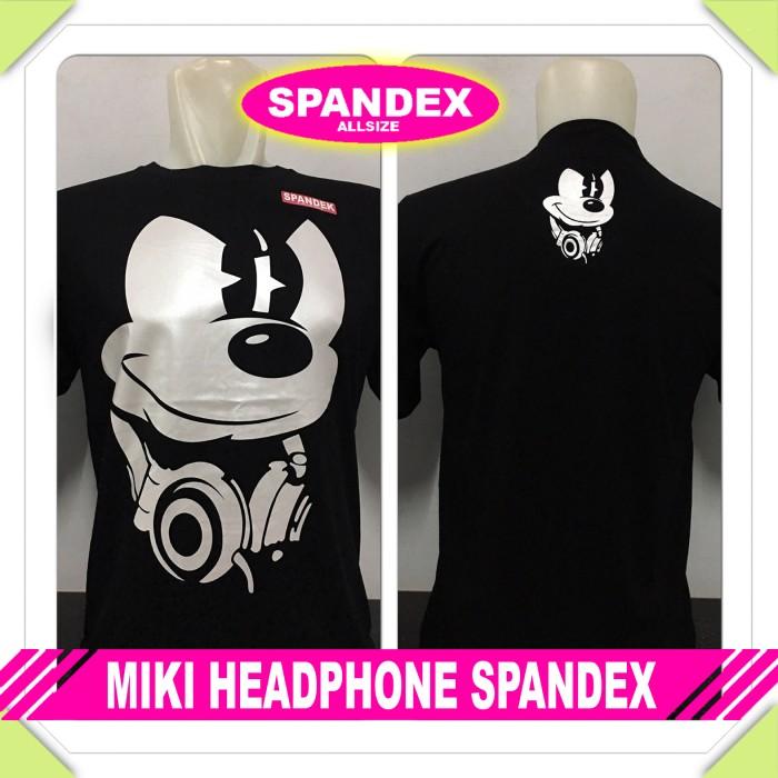 Kaos superhero - miki headphone