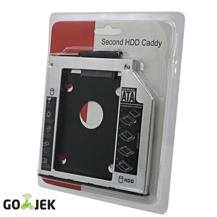 harga Hdd caddy 9.5 mm /12.7 mm sata slot hardisk tambahan/second hd laptop Tokopedia.com