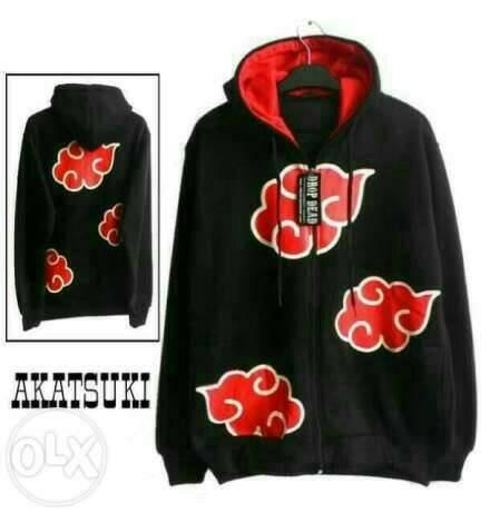harga Pakaian pria/jaket akatsuki black/jaket murah/jaket hoodie Tokopedia.com