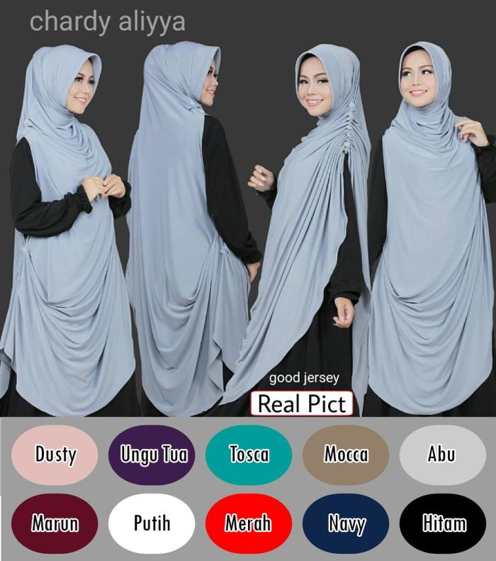 harga Jilbab langsung cardigan/jilbab jumbo longcardy Tokopedia.com