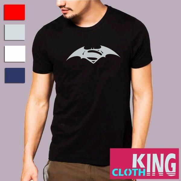 Kaos/baju/t-shirt batman vs superman