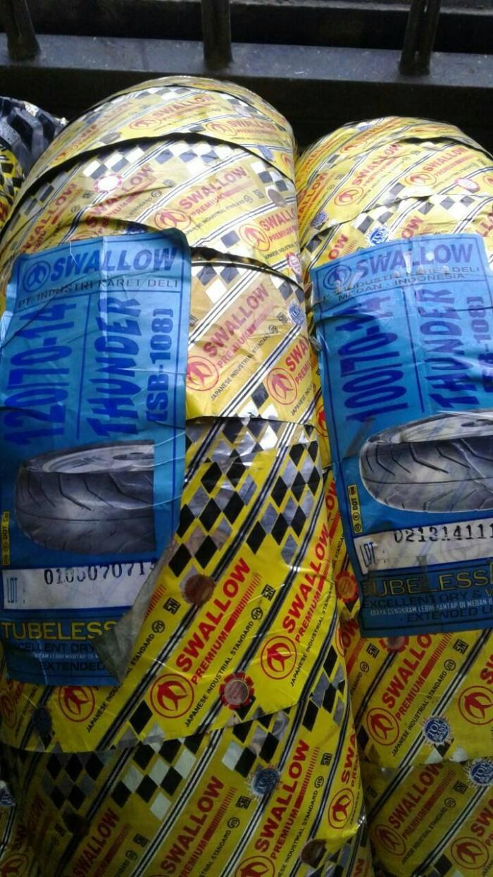 Paket ban luar swallow tubeless 120/70-14 & 100/70-14 thunder (2)