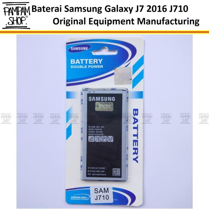 harga Baterai handphone samsung galaxy j7 2016 j710 original | battery batre Tokopedia.com