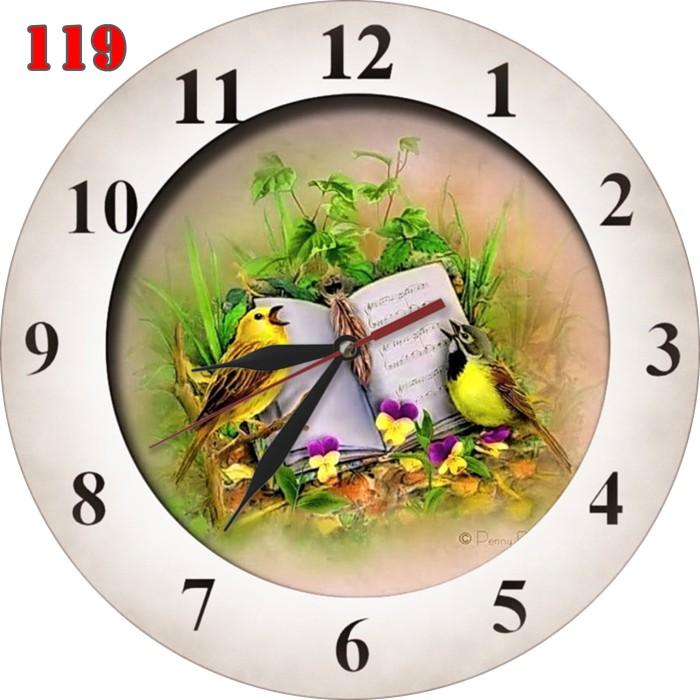 harga #119 jam dinding unik motif lukisan burung kerajinan interior Tokopedia.com