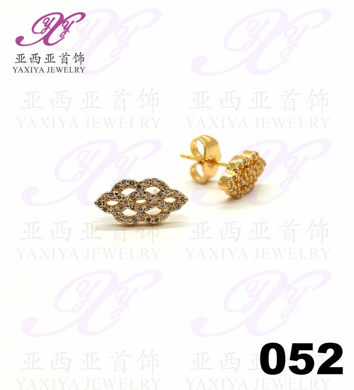 harga Yaxiya (cincin gelang kalung liontin) anting permata warna gold18k 052 Tokopedia.com