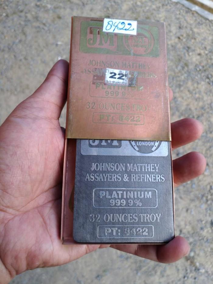 Jual Platinum Batangan Johnson Matthey Assayers Refiners