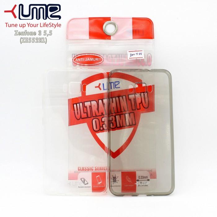 harga Asus zenfone 3 55  (ze552kl) soft case ume ultrathin 033mm Tokopedia.com
