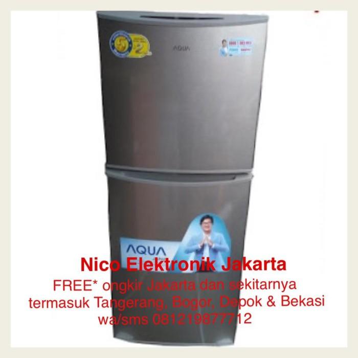 harga Free ongkir* lemari es sanyo haier aqua kulkas 2 pintu aqr-d260 (s) Tokopedia.com