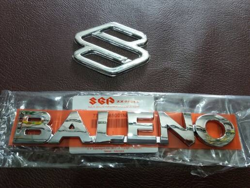 Foto Produk EMBLEM BALENO (ASLI) + LOGO S (LOKAL) dari KING'S AUTO