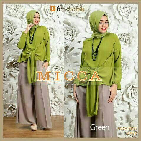 Foto Produk Gamis / Baju / Pakaian Wanita Muslim New Micca Syari dari FERI'S TOKO
