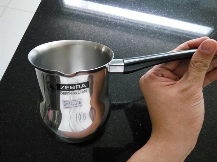 harga Zebra ibrik turkish cofee maker 3-4 cups diameter 9 cm Tokopedia.com