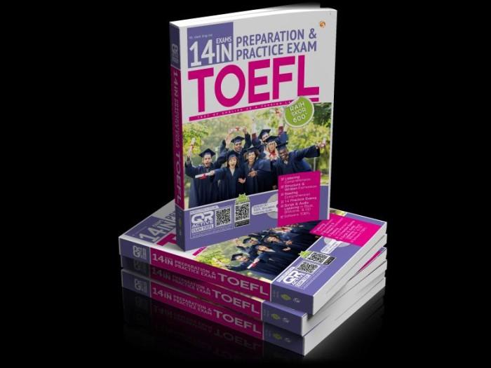 harga 14 exams in preparation & practice exam toefl Tokopedia.com