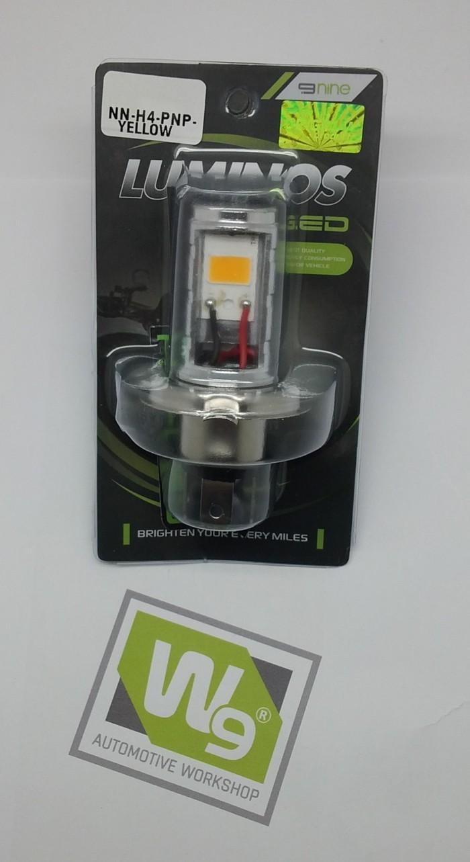 LAMPU LED H4 PNP YELLOW MOTOR LUMINOS