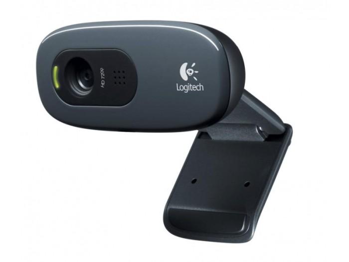 harga Webcam logitech c270 hd web cam hd720p - garansi resmi original 100% Tokopedia.com
