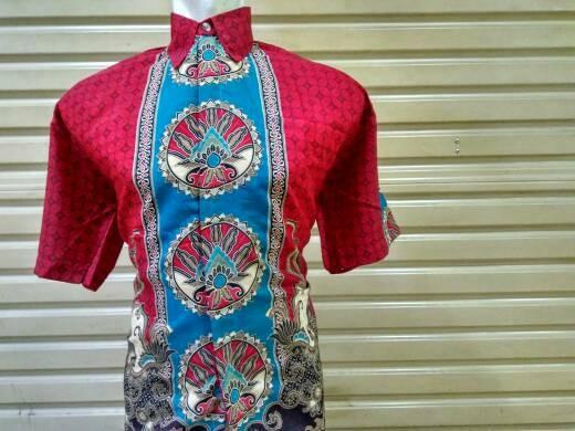 Jual Baju Batik Doby Seragam Kantor Kerja Ika Fashion Tanah Abang