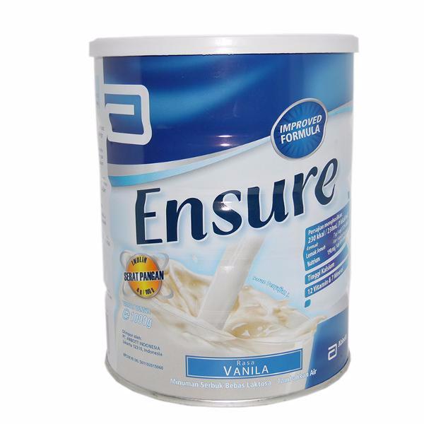 Ensure Vanilla 1000gr (JAKARTA FREE ONGKIR)