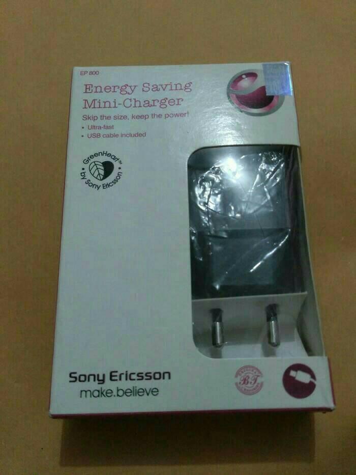harga Original 100% sony ericsson charger ep-800 greenheart Tokopedia.com