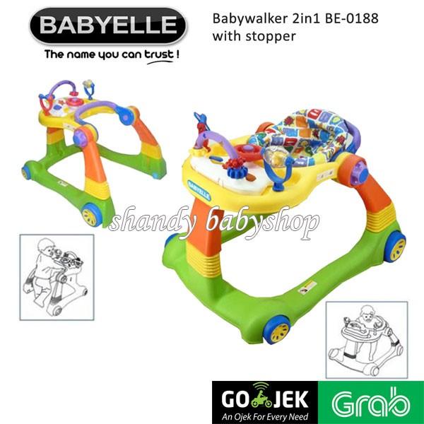 harga Gojek/grab - baby walker/ ride on/ push walker/ babyelle walker 2-in-1 Tokopedia.com