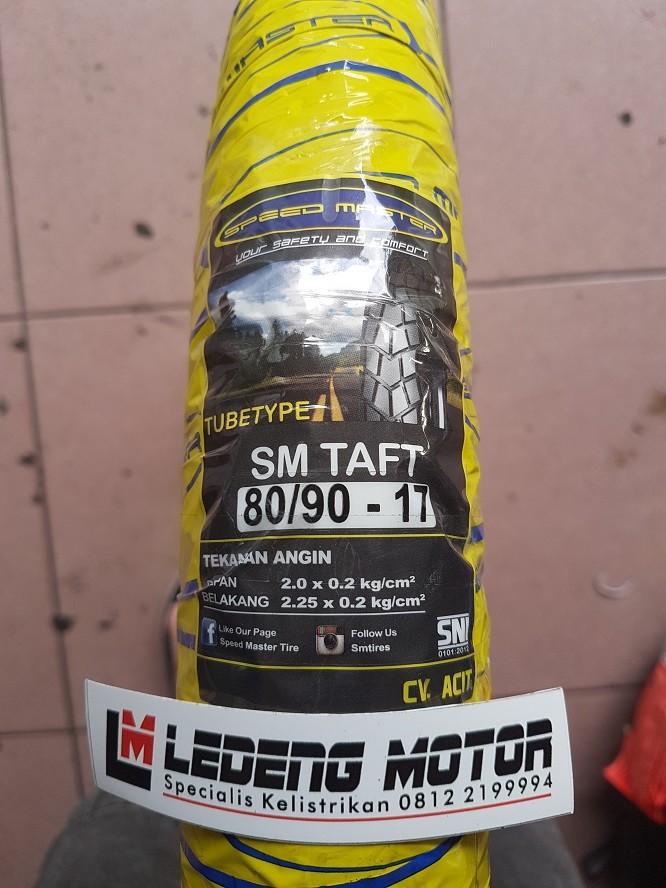 harga Ban trail motor bebek 80/90-17 sm taft tubetype kembang tahu kotak Tokopedia.com