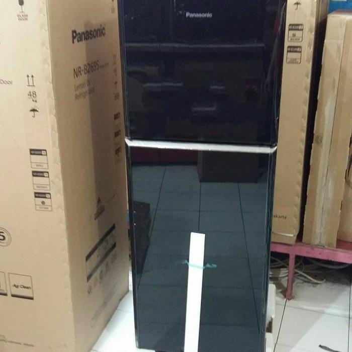 Kulkas 2 Pintu Panasonic Nr B269s Alowa Glass Door Harga