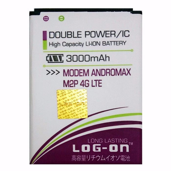 Foto Produk Log on Baterai Modem Smartfren Andromax M2P 4G LTE - Double Power - 30 dari Tantridiana