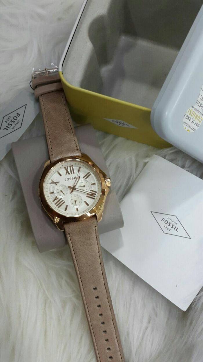 Harga Jual Jam Tangan Fossil Gold Wanita Terbaru 2017 Chronograph Ch3016 Abilene Light Brown Am 4532 Leather Kulit Original Murah