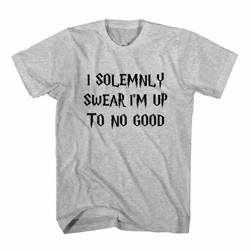 Jual Tumblr Tee / T-Shirt / Kaos Wanita I Solemnly Swear I'm Up To No Good  - Kota Tangerang - Distro Jakarta: Youtuber | Tokopedia
