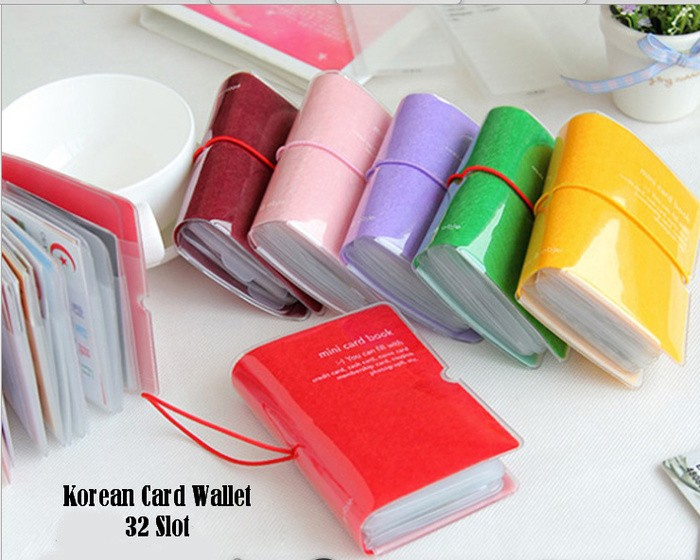 harga Dompet kartu 32 slot/korean card wallet 32 slot card holder unik lucu Tokopedia.com