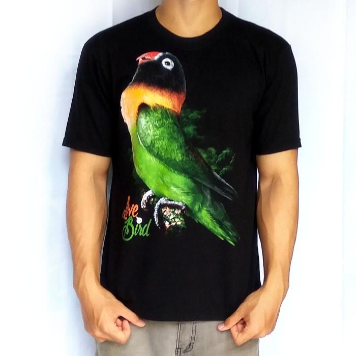 harga Bawara kaos burung kicau lovebird d dakocan premium hitam size l, m, s Tokopedia.com