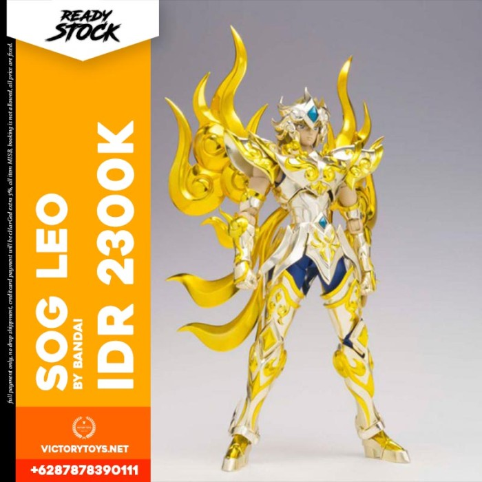 harga Soul of gold leo aiolia by bandai Tokopedia.com