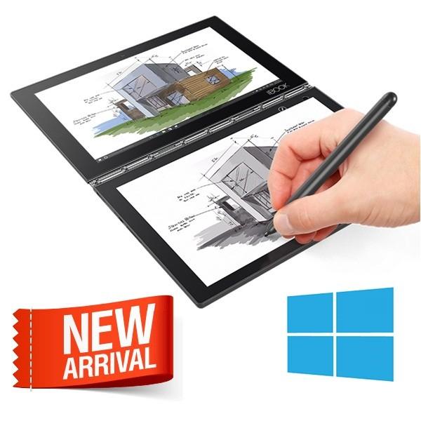 Foto Produk Lenovo Yoga Book YB1-X91F (Atom X5-Z8550, 4GB, 64GB,10.1 FHD) BLACK dari WAROENG GAMING!