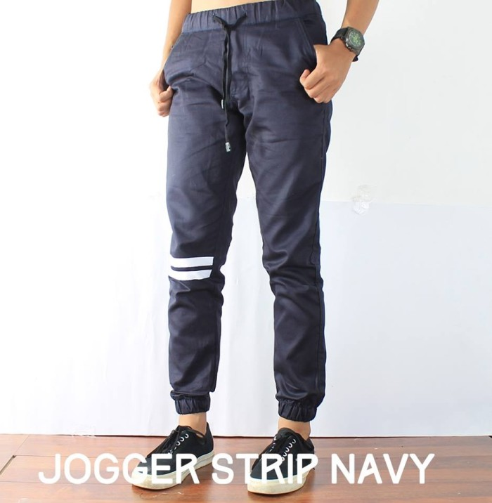 Info Jogger Pants Strip Travelbon.com