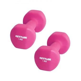 harga Kettler dumbell neoprene 2kg pink (2kg/pair) Tokopedia.com
