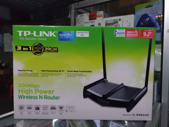 harga Tp-link tl-wr841hp(hg) high power wireless n router 300mbps Tokopedia.com