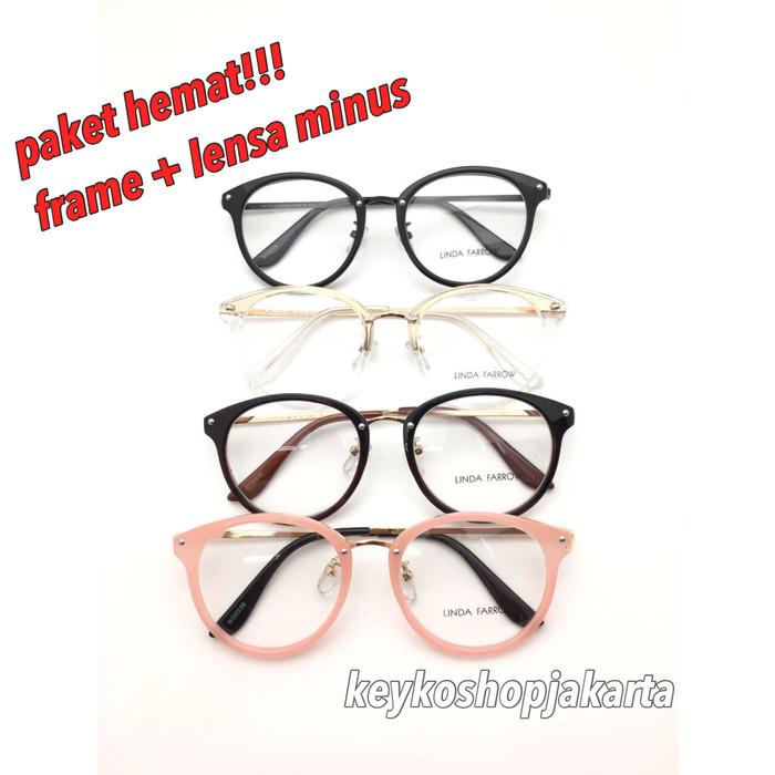 Free lensa minus - frame kacamata wanita lindafarrow 8936 c821aa0cdc
