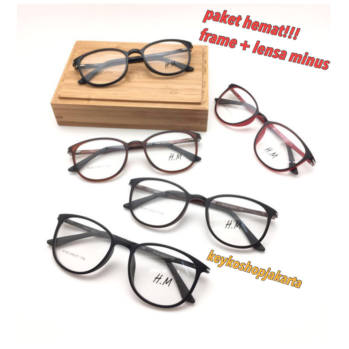 Free lensa minus - frame kacamata pria wanita h m sinji 2f8dcbfe32