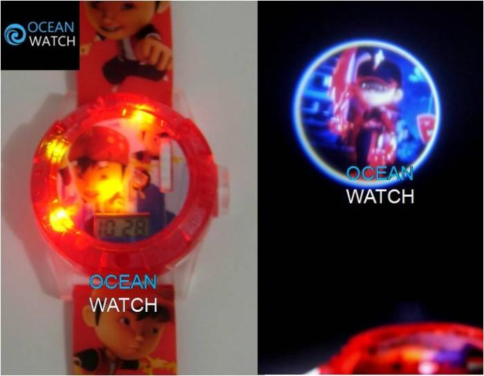 harga Jam tangan anak cowok proyektor lampu, laser boboi boy ajp07 Tokopedia.com