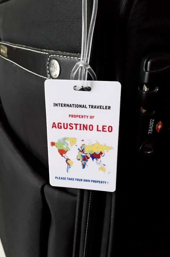 harga Luggage tag / label koper / name tag bag / international traveler Tokopedia.com