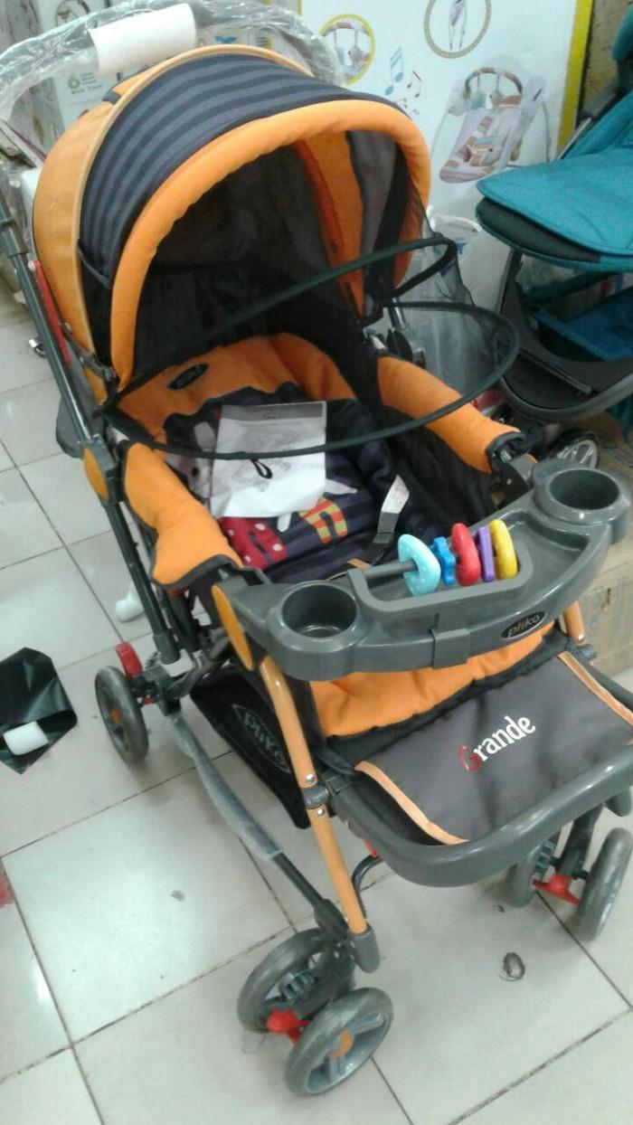 harga Stroller Baby Kereta Dorong Bayi Kereta Anak Murah Pliko 268 Grande Tokopedia.com