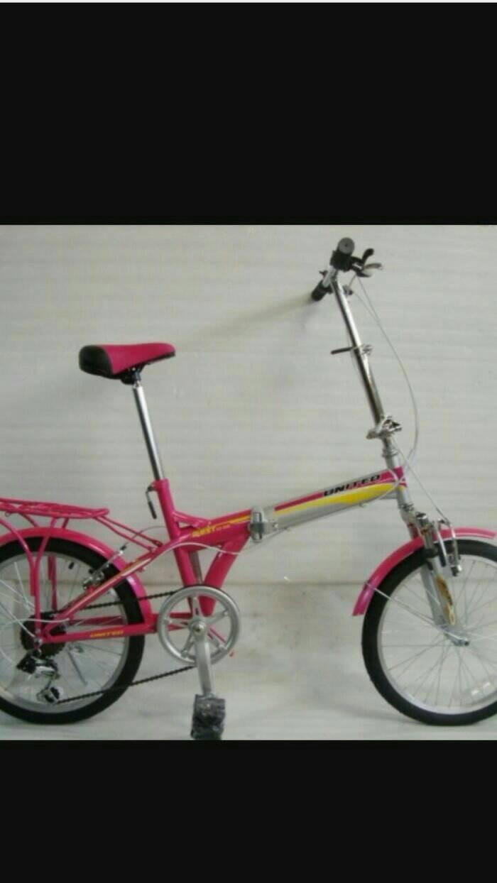 harga Sepeda lipat united 20 per depan belakang. Tokopedia.com