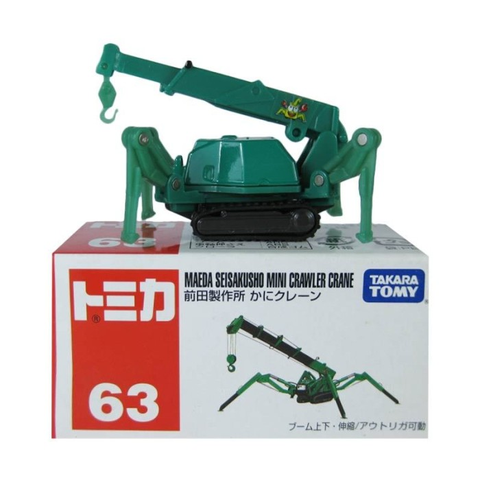 harga Tomica no 63 maeda crane miniatur konstruksi diecast takara tomy Tokopedia.com