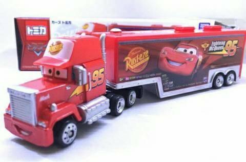 harga Tomica Disney Pixar Cars Mack Team Transporter Cargo Truck Trailer Tokopedia.com